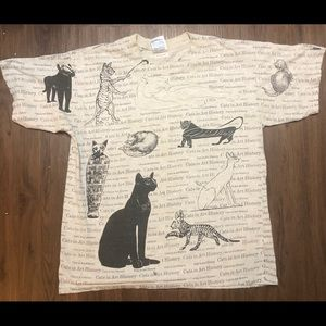 🐈 Vintage History of cats shirt 🔥
